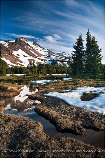 Jefferson Park Print, Mt. Jefferson Wilderness, Oregon