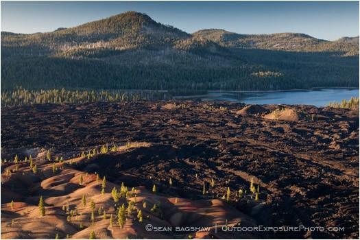 Lassen Volcanic National Park 5 Stock Image California