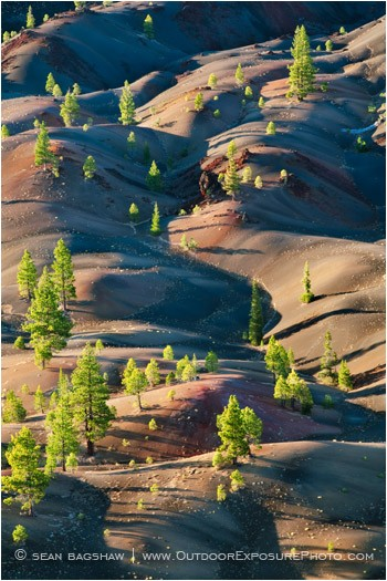 Painted Dunes 5 Stock Image Lassen Volcanic National Park, California