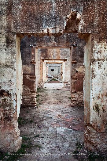 Mineral de Pozos Doorways 3 Stock Image, Mexico