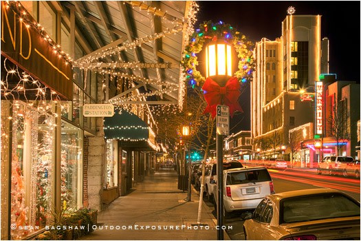Festival Of Light 6 Stock Image Ashland Oregon