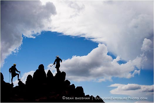 On Top Of Mt. Lassen Stock Image, Northern California Cascade Range, Oregon
