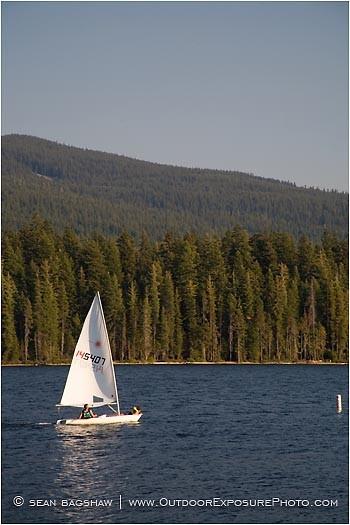 Lake Resort 12 Stock Image Ashland, Oregon
