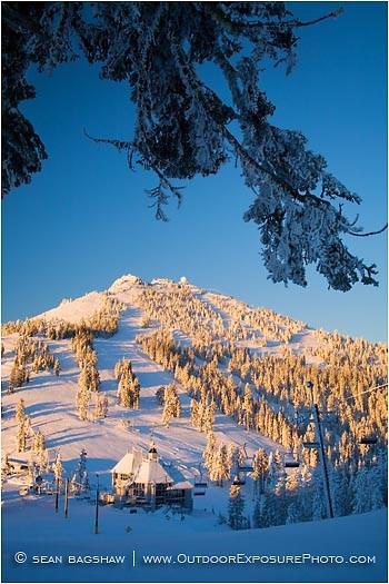 Mt. Ashland 5 Stock Image,