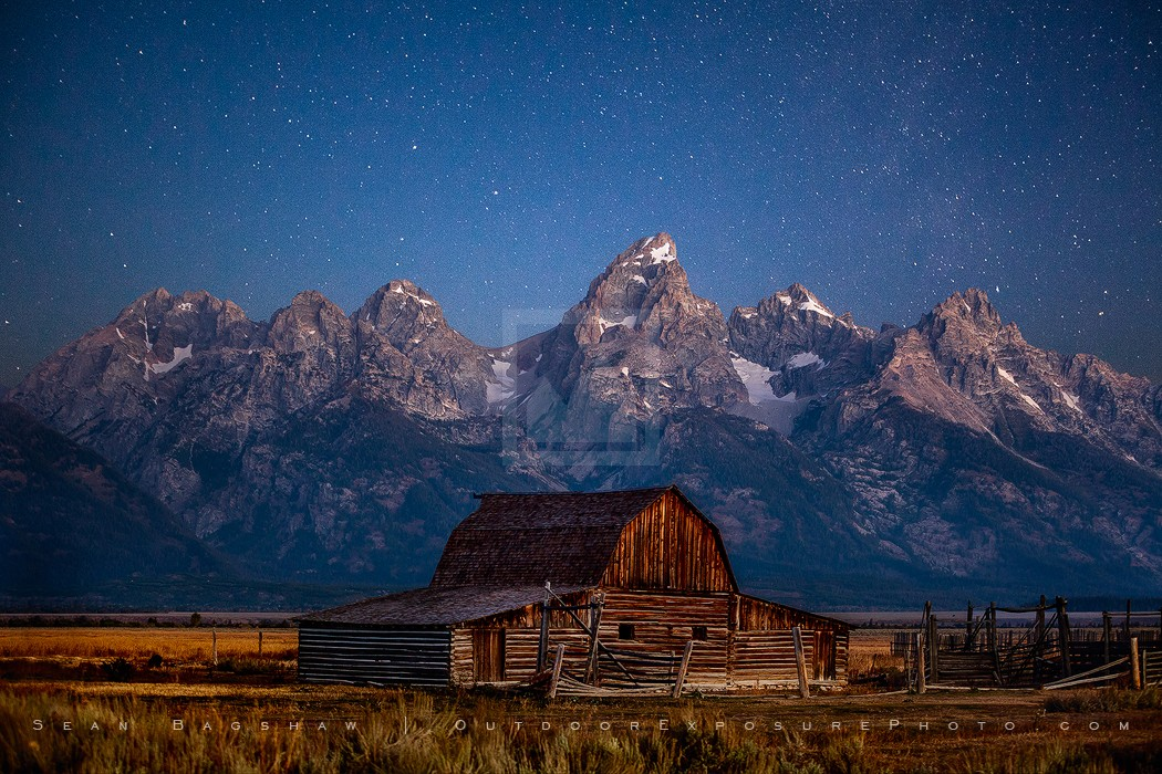 Silence Takes You Print, Grand Tetons National Park, Wyoming