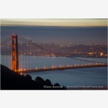 Golden Gate Bridge 3 Stock Image,