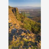 View From Upper Table Rock 2 Stock Image,