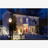 McCully House in Jacksonville Stock Image,