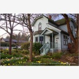 Jacksonville Vintage House Stock Image,