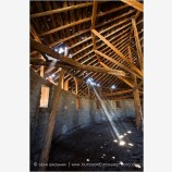 French Round Barn 1 Stock Image,