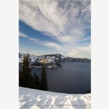 Crater Lake 9 Stock Image, Oregon