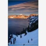 Crater Lake 10 Stock Image, Oregon
