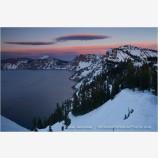 Crater Lake 11 Stock Image, Oregon
