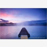 Emigrant Lake Dock 1 Stock Image