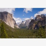 Yosemite Valley 1 Stock Image,