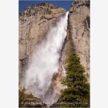 Yosemite Falls 2 Stock Image,