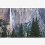 Yosemite Falls 3 Stock Image,