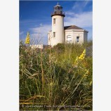 Coquille River Lighthouse 3 Stock Image, Bandon, Oregon
