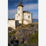 Coquille River Lighthouse 5 Stock Image, Bandon, Oregon