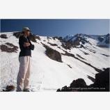 Climbing Mt. Shasta 2 Stock Image