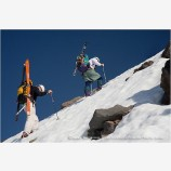 Climbing Mt. Shasta 3 Stock Image