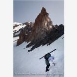 Climbing Mt. Shasta 5 Stock Image