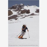 Skiing Mt. Shasta 1 Stock Image,