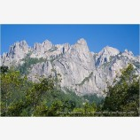 Castle Crags Stock Image