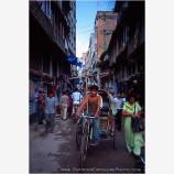 Kathmandu Street Scene Stock Image,