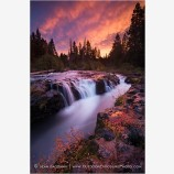Crimson Gorge Stock Image, Rogue River, Oregon