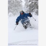 Skier 5 Stock Image,