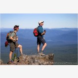 Day Hike Stock Image, Cascade Range, Oregon