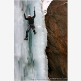 Ice Park IV Stock Image, Ouray, Colorado
