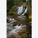 National Creek Falls Stock Image,