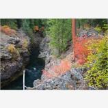 Takelma Gorge Fall 4 Stock Image,