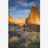 Smith Rock 2 Stock Image,
