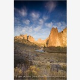 Smith Rock 3 Stock Image,