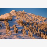Mt. Ashland Sunrise 2 Stock Image,