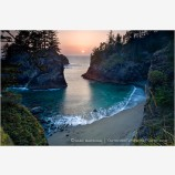 Emerald Cove Stock Image, Brookings, Oregon