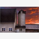 Barn Storm Stock Image, Palouse Region, Washington