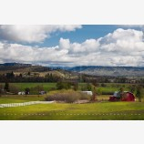Rogue Valley Farmland Stock Image, Oregon