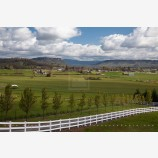 Rogue Valley Farmland 2 Stock Image, Oregon