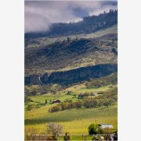 Rogue Valley in Spring 5 Stock Image,