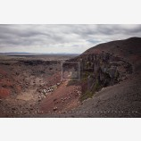 Coffeepot Volcanic Crater 4 Stock Image, Malheur County, Oregon