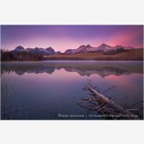 Little Redfish Dawn Stock Image, Sawtooth Range, Idaho