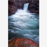 Hydrodynamics Stock Image, Glacier National Park, Montana