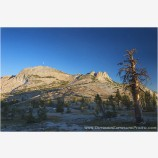 Sierra Moonrise Stock Image, High Sierra, California