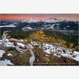 Touch of Light Stock Image, Cascade Range, Oregon