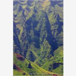 Na Pali Terrain Stock Image, Kauai, Hawaii