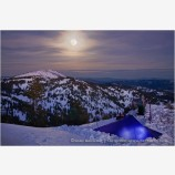Moon Camp Stock Image, Siskiyou Range, Oregon